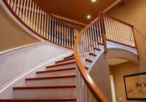 interior-painting-company-staicase-railing-williamsburg-virginia